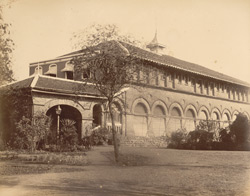 [View of the] Residency [Kolhapur].